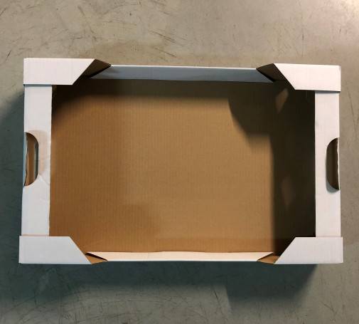 Tacka tekturowa 588x371x90 pączki/ciasto/faworki (100szt.)